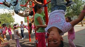 Kids Playing at Recess